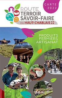Carte de la Route Terroir et Savoir Faire du Haut Chablais