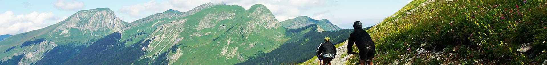 Accompagnateurs VTT en Vallée d'Aulps