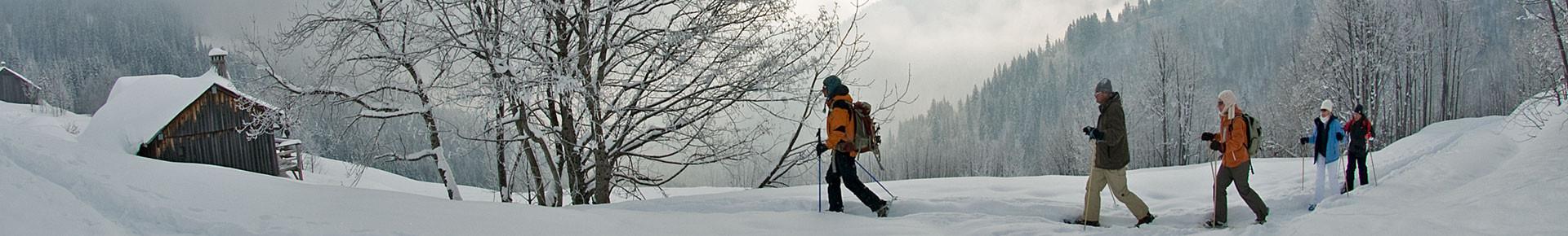 Activités d'hiver en Vallée d'Aulps