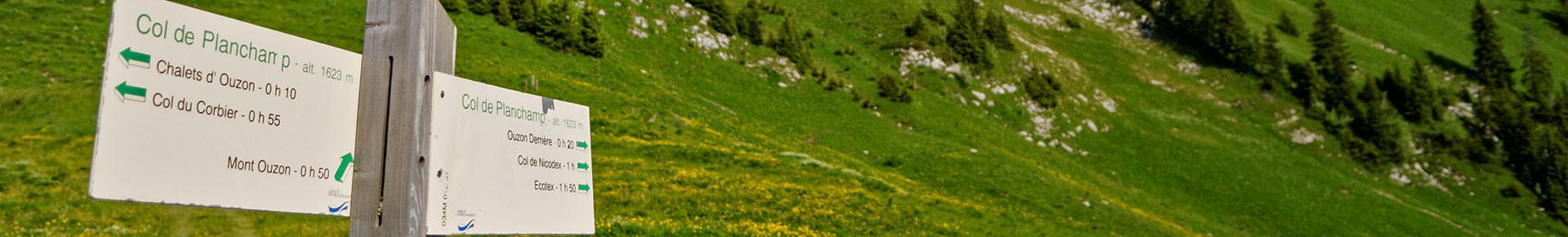 Cartes et topoguides randonnée en Vallée d'Aulps