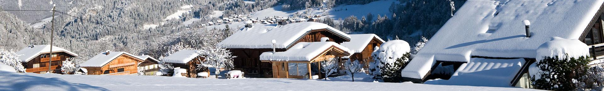 Chalets à prestations hotelières en hiver