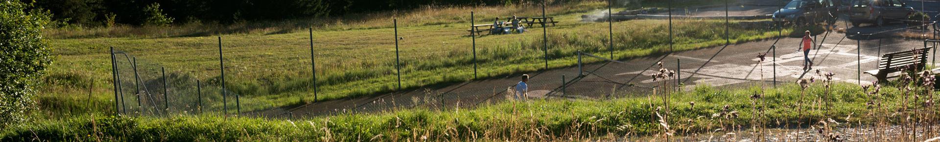 Cours de tennis en Vallée d'Aulps