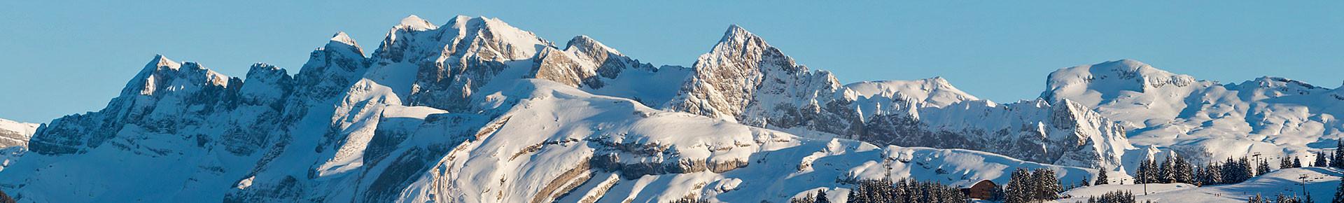 Découvrir la Vallée d'Aulps en hiver