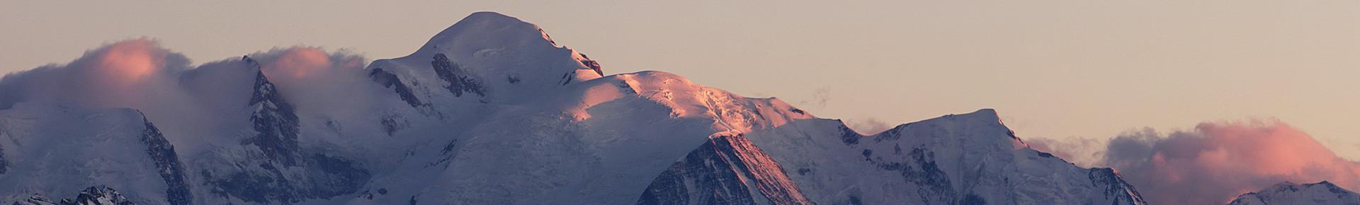 Environs de la Vallée d'Aulps : Le Mont Blanc