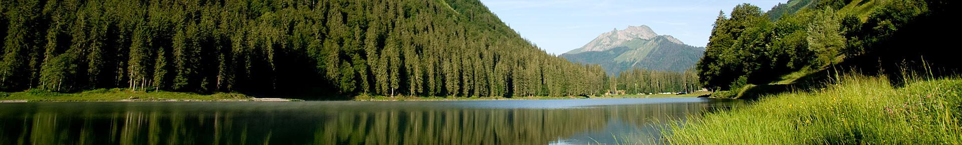 Lacs et cascades en Vallée d'Aulps