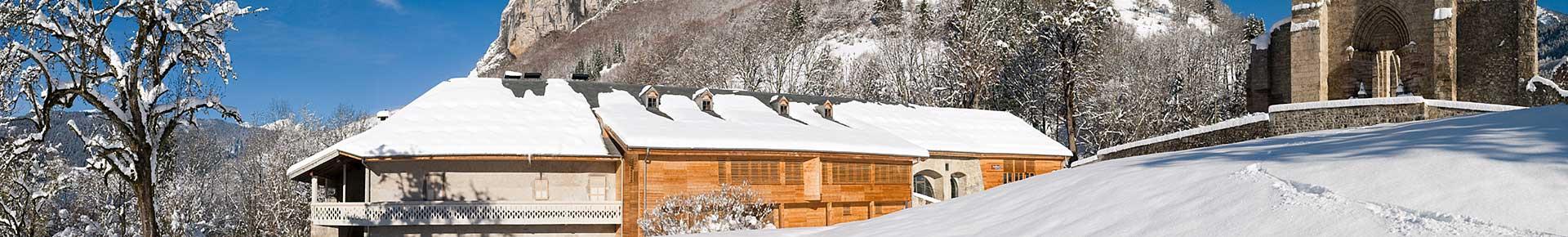 Le Domaine de Découverte de la Vallée d'Aulps en hiver