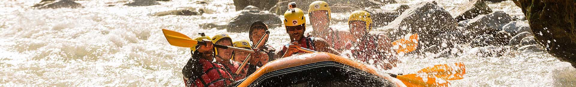 Rafting sur la Dranse