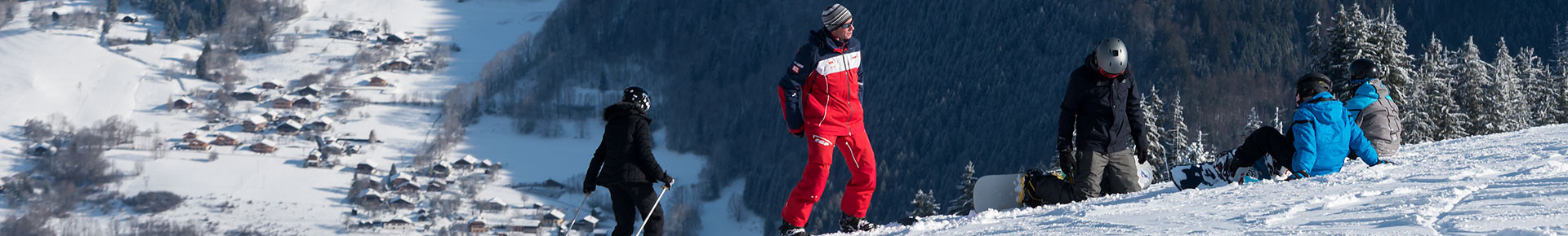 Saint Jean d'Aulps Ski school