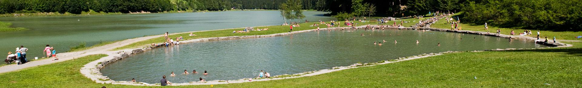 Sites de baignade en Vallée d'Aulps