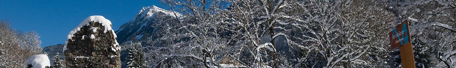 Sites incontournables de la Vallée d'Aulps en hiver