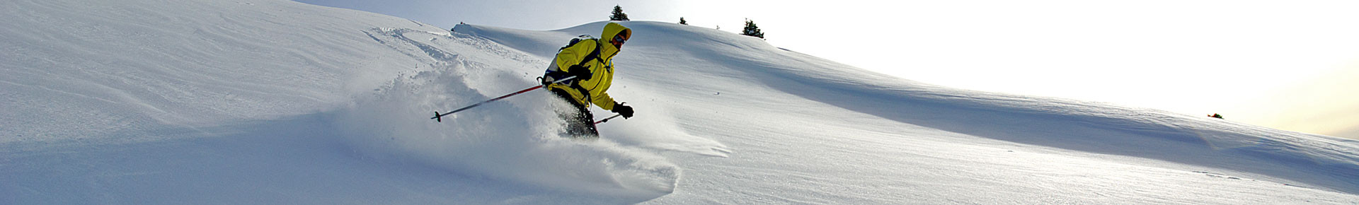 Ski hors piste en Vallée d'Aulps