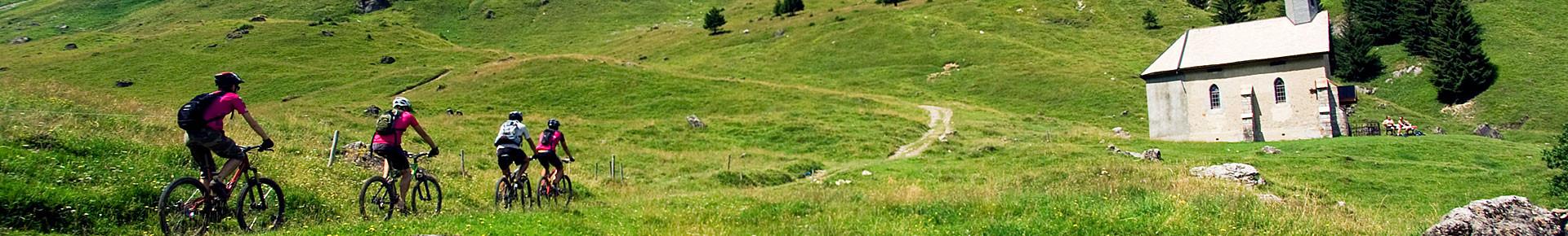 VTT en Vallée d'Aulps