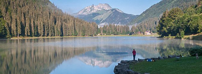 Activités autour du Lac de Montriond