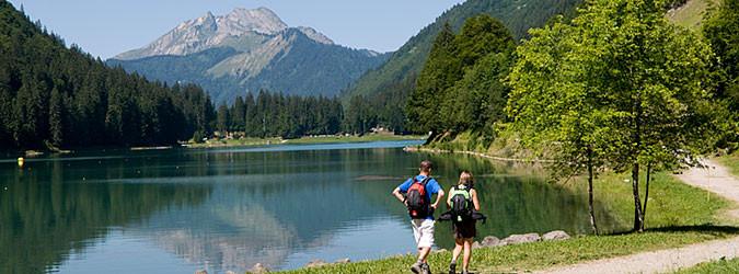 Balades et randonnées autour du lac de Montriond
