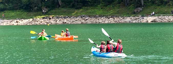 Canoë kayak and paddle renting