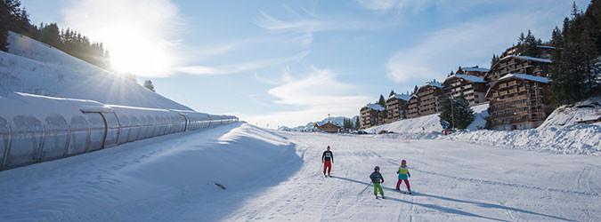 Col du Corbier Beginners' ski zone