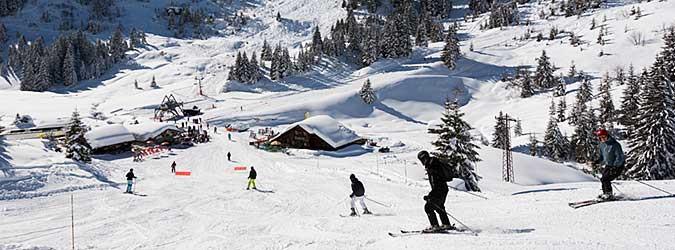 Domaine skiable de Montriond Avoriaz