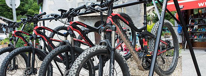 Where to rent an electric MTB
