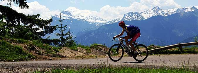 Itinéraires de cyclotourisme