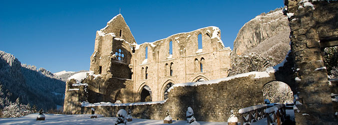 Galerie photos de l'Abbaye d'Aulps