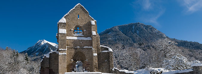 Présentation de l'Abbaye d'Aulps
