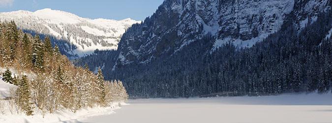 Présentation du Lac de Montriond