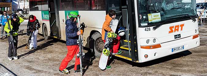 Ski Buses