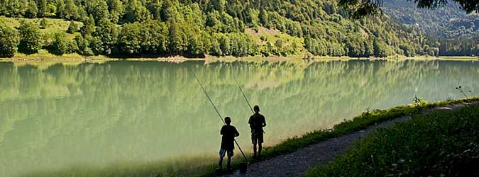 Fishing places