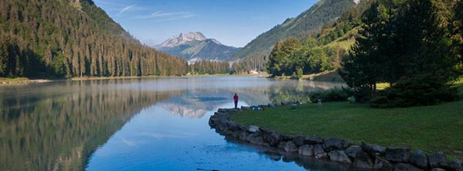 Lacs et cascades