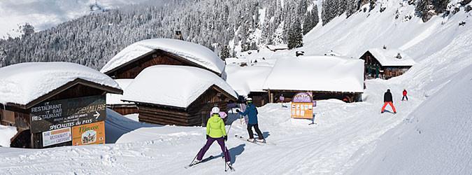Montriond-Domaine skiable d'Avoriaz