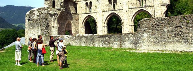 Visite guidée de l'Abbaye d'Aulps