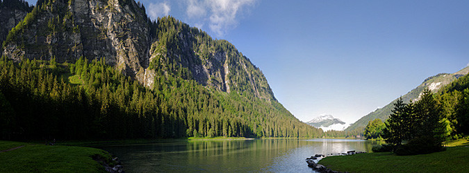 Visite virtuelle du Lac de Montriond