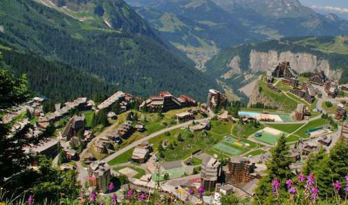Summer in Avoriaz
