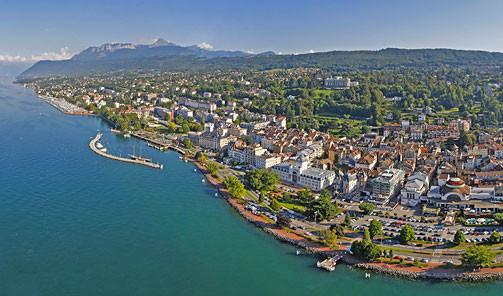 Summer in Evian les Bains