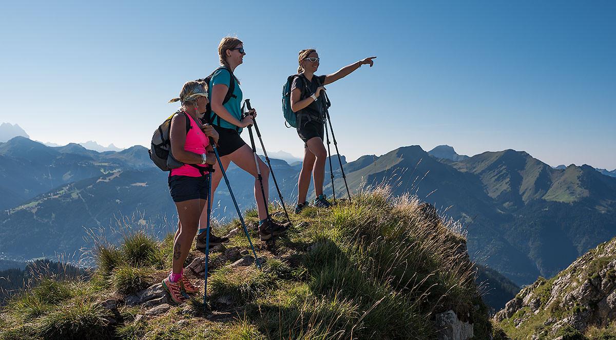 Randonnée en Vallée d'Aulps : Col Ratti