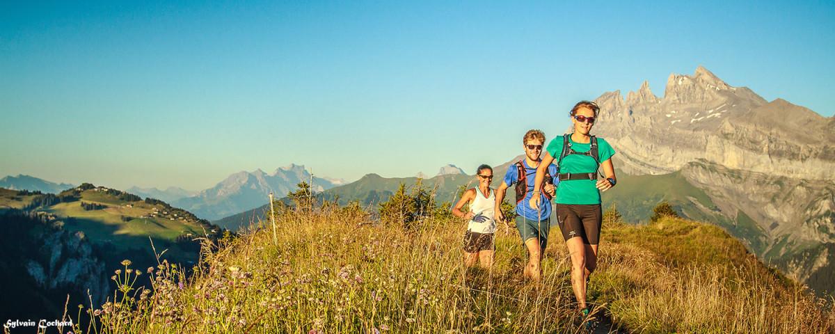 Trail en Vallée d'Aulps