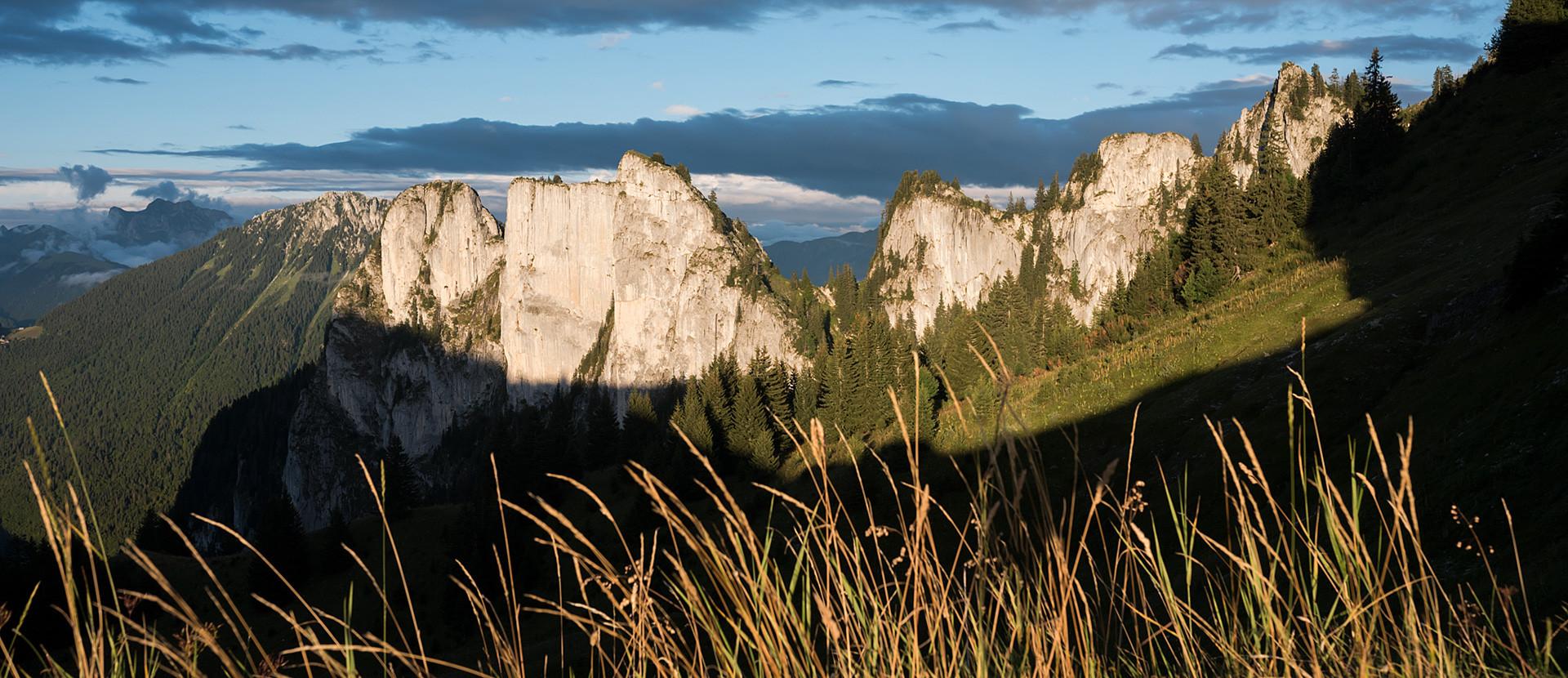 Montagnes Vallée d'Aulps : Mévonne