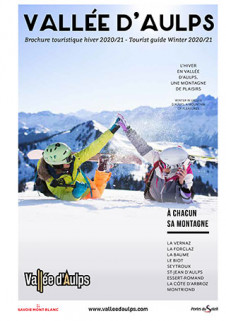Brochure Vallée d'Aulps hiver 2020/2021