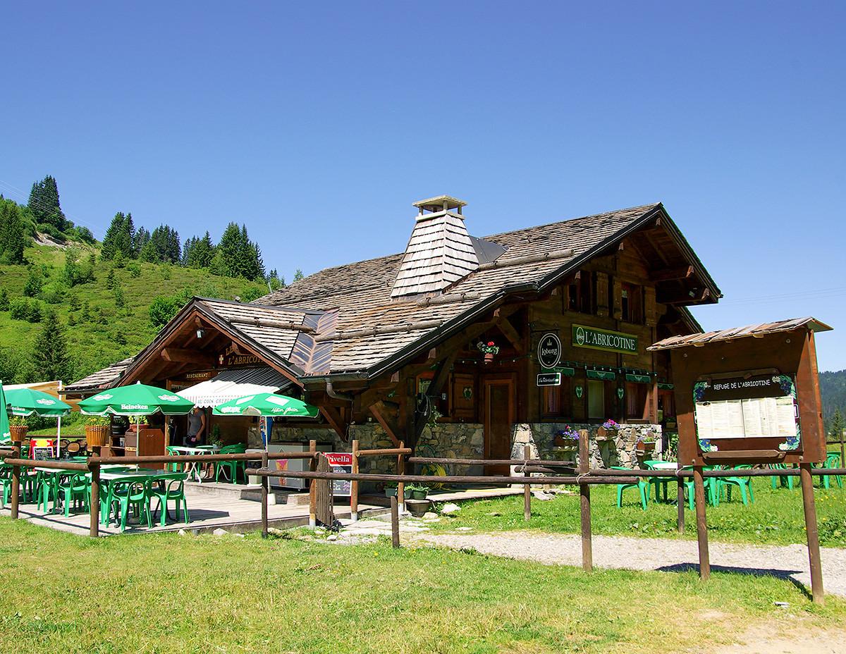 Bar restaurant refuge l'Abricotine