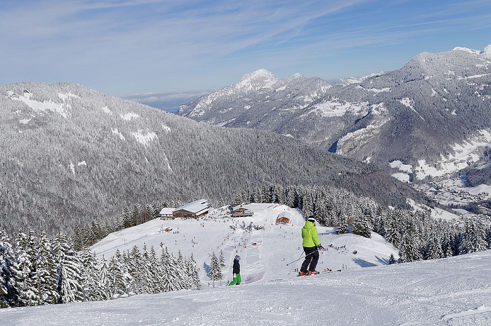 Saint Jean d Aulps - Roc d Enfer Ski resort   ski in Saint Jean d ... a5294975eb49