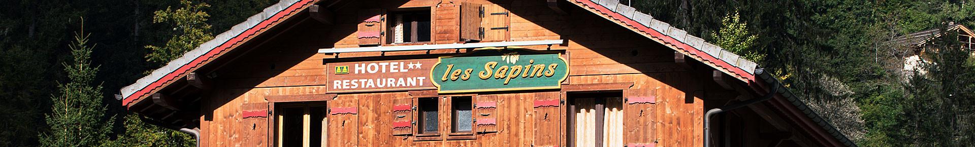 Bars restaurant les Sapins