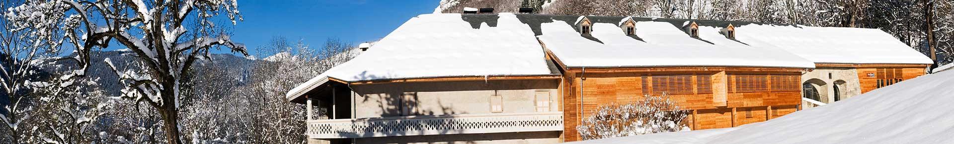 Domaine de Découverte de la Vallée d'Aulps en hiver