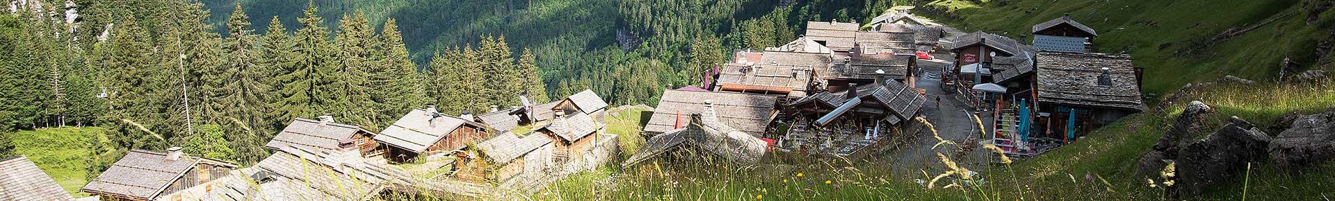 Lindarets, village des chèvres