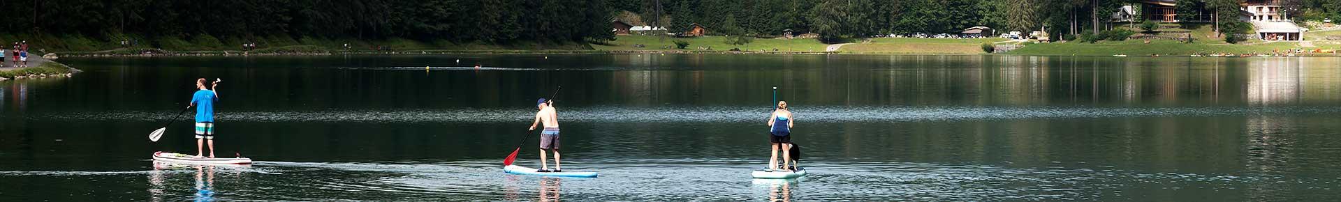 Location de Canoës Kayak et paddle sur le Lac de Montriond
