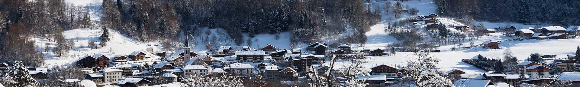 Saint Jean d'Aulps en hiver