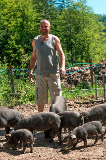 La ferme de Bioge du Cochon Heureux