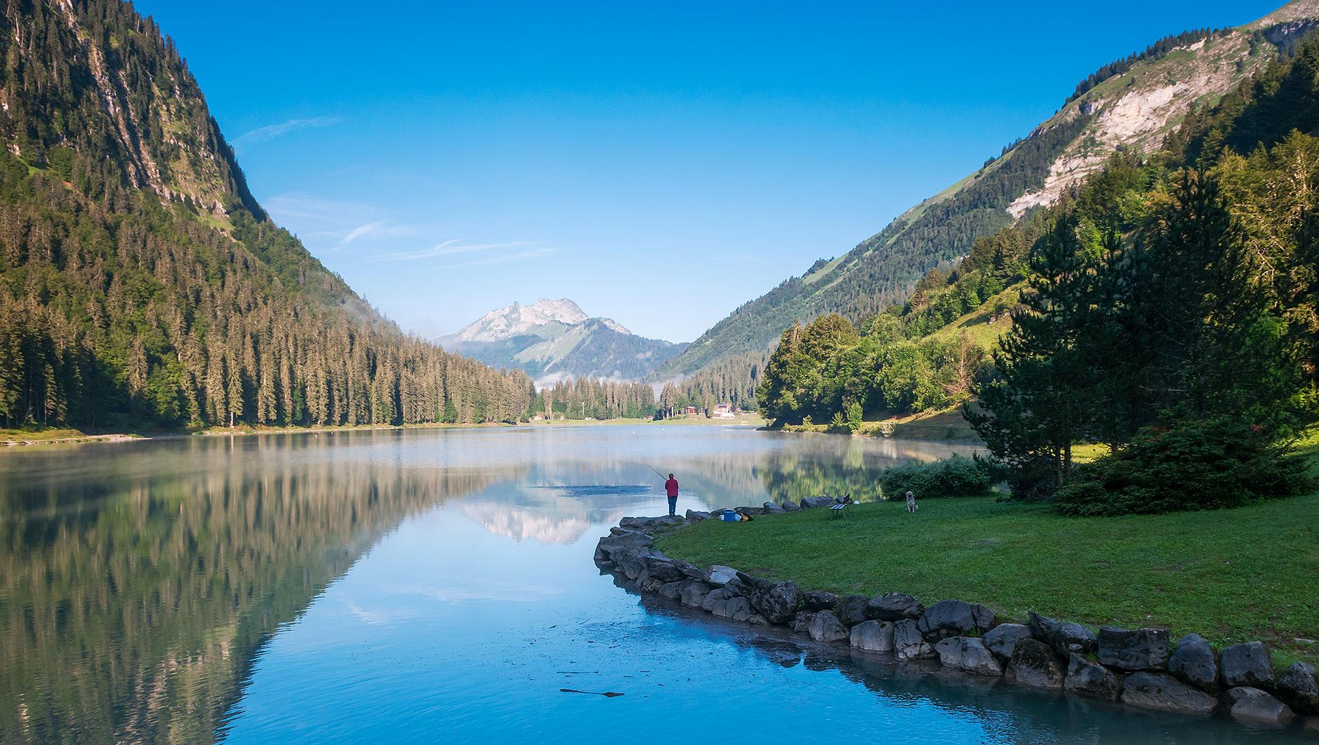 Lac de Montriond : pêche