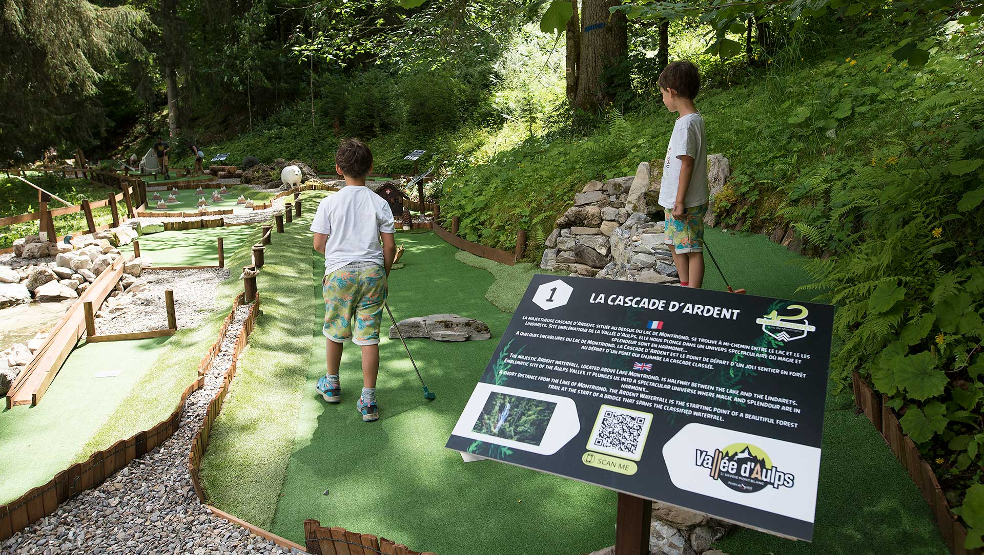 Mini golf du Lac de Montriond
