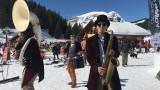 Mardi Gras sur les pistes au Lindarets