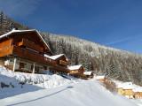 Chalet les Marmottons en hiver, Drouzin le Mont